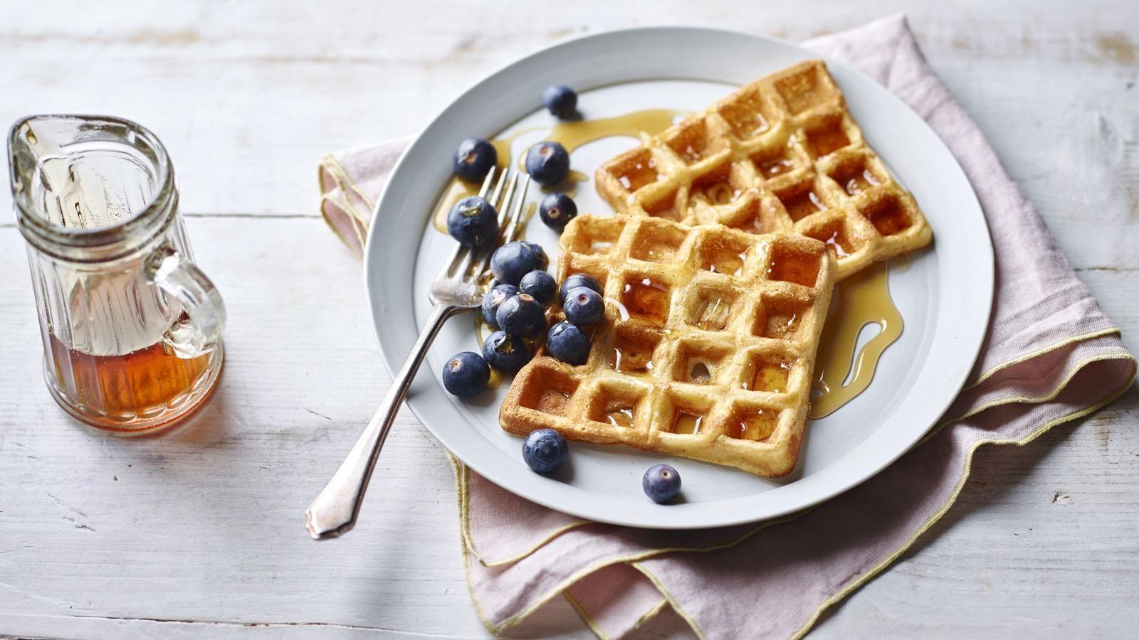 Waffles Recipe Oppskrift Kaker