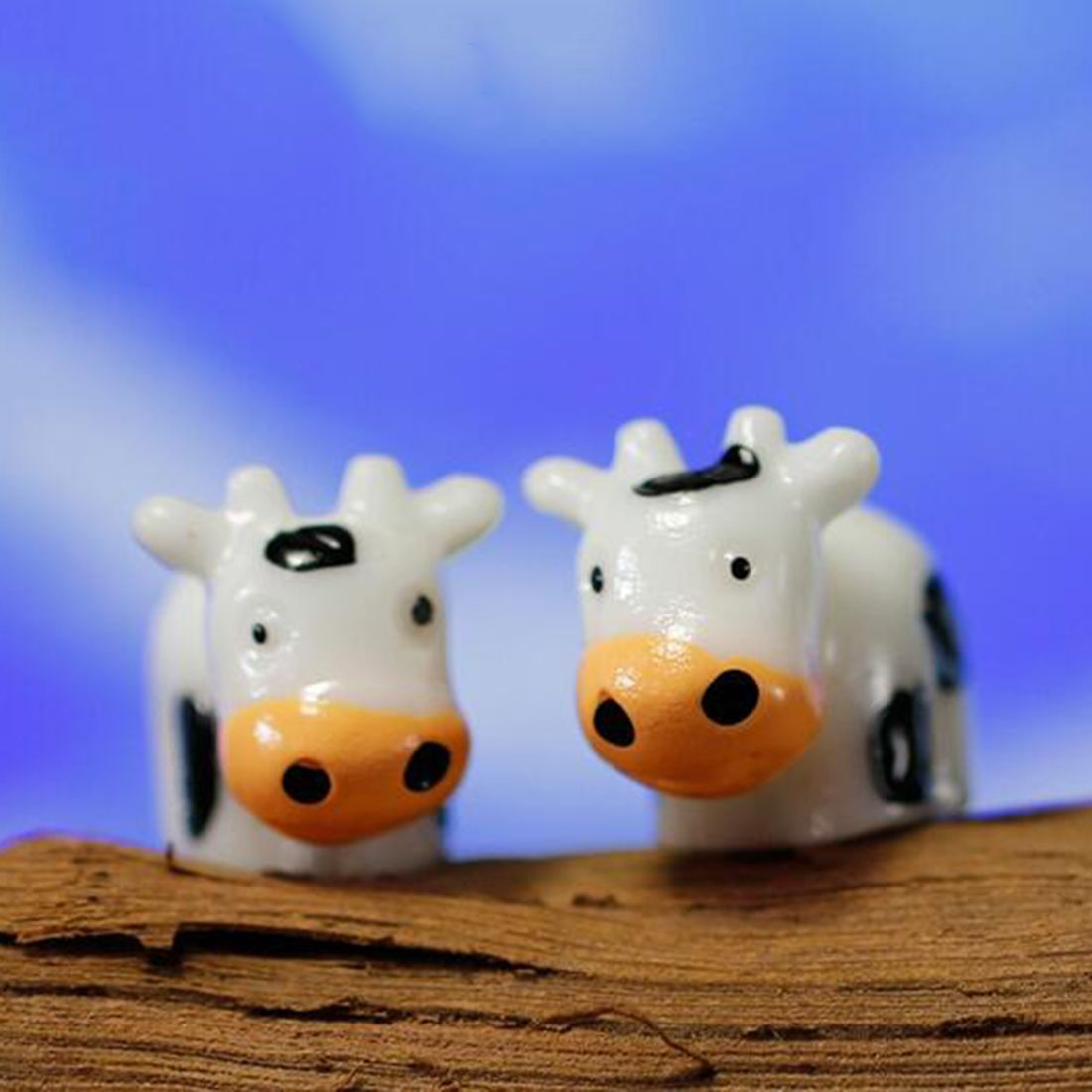 Cows Miniature Dollhouse Picture