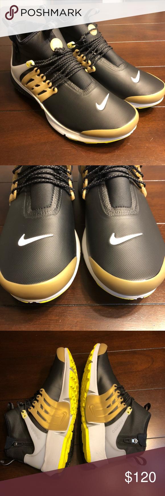official photos 6dd0f daf92 Mens Nike Air Presto Utility Mid Sz 12 859524-002 NEW Mens Nike Air Presto  Utility Mid Sz 12 859524-002 Sneaker Boot Winter Black No box Nike Shoes  Sneakers