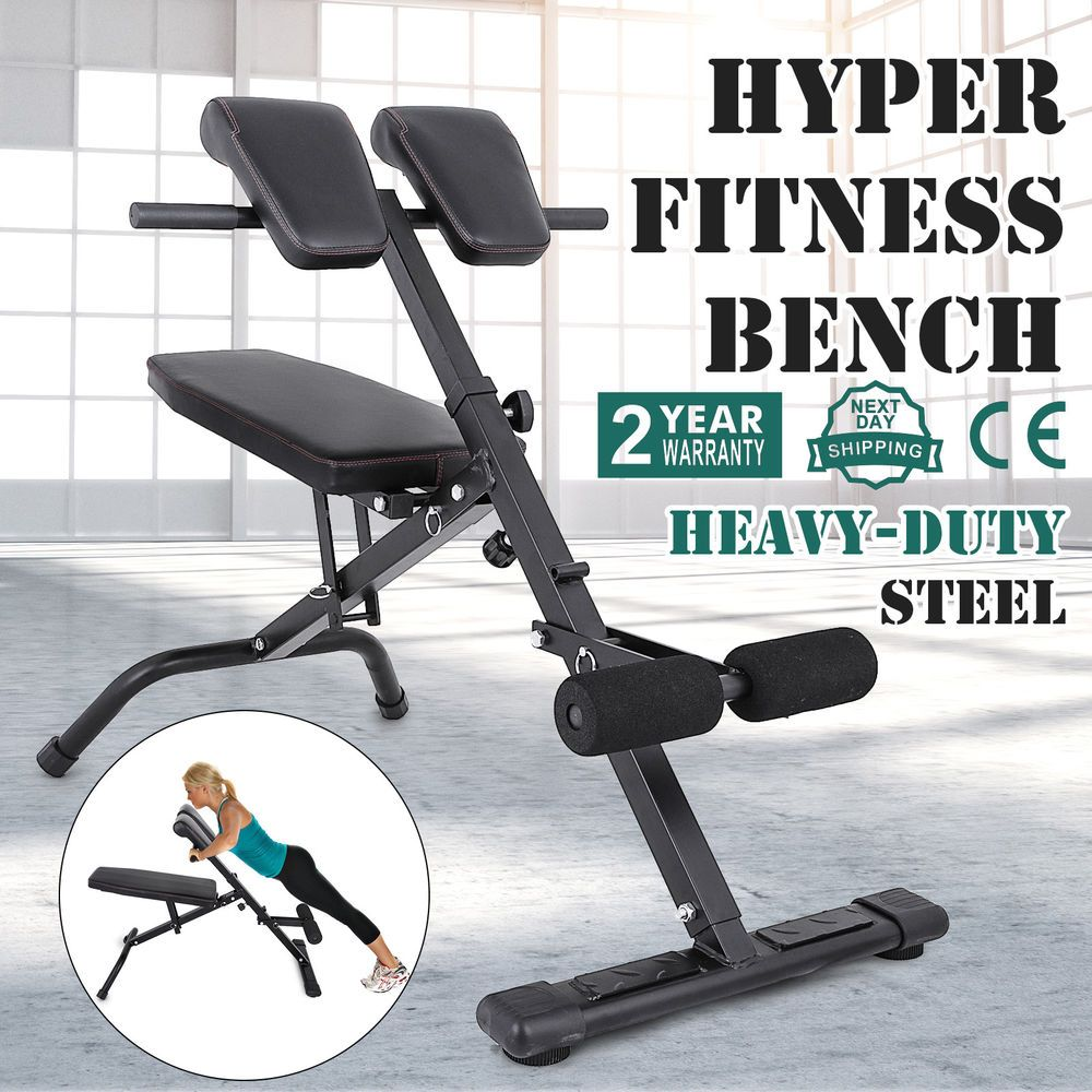 commercial gym roman chair swing murah adjustable hyper extension back bench exercise training push up ebay link