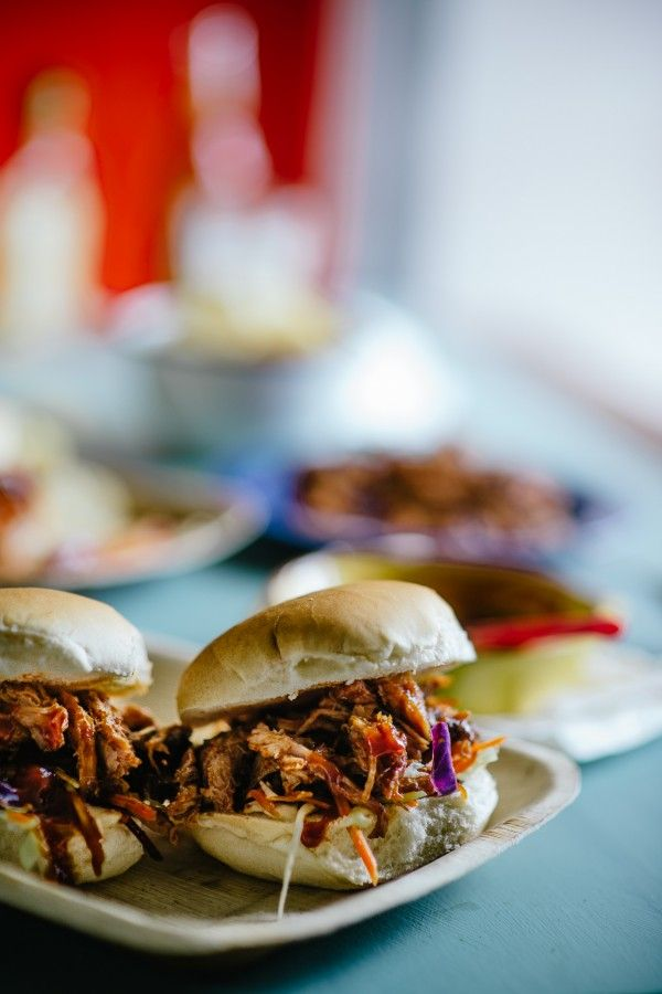 Bourbon Barbecue Sauce Pulled Pork Sandwiches Recipes Delicious Beef Recipe Pulled Pork Sandwich