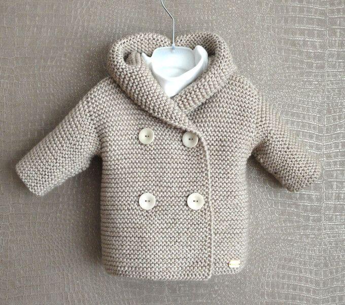 Baby mantel stricken anleitung