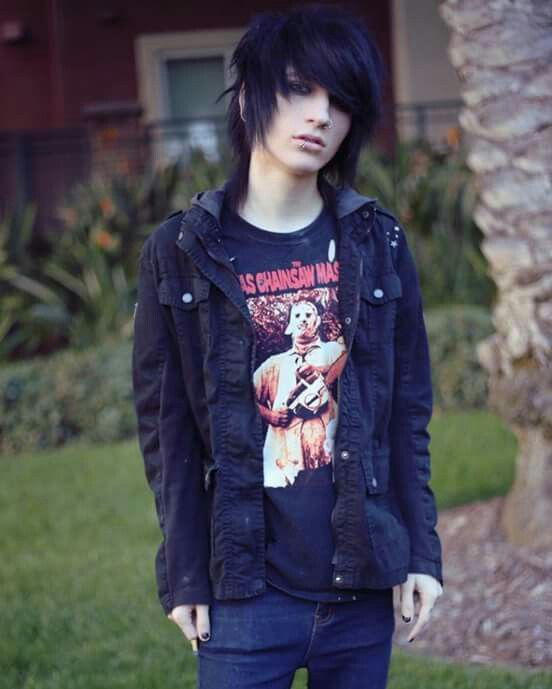 heiße Punkrock-Mädchen