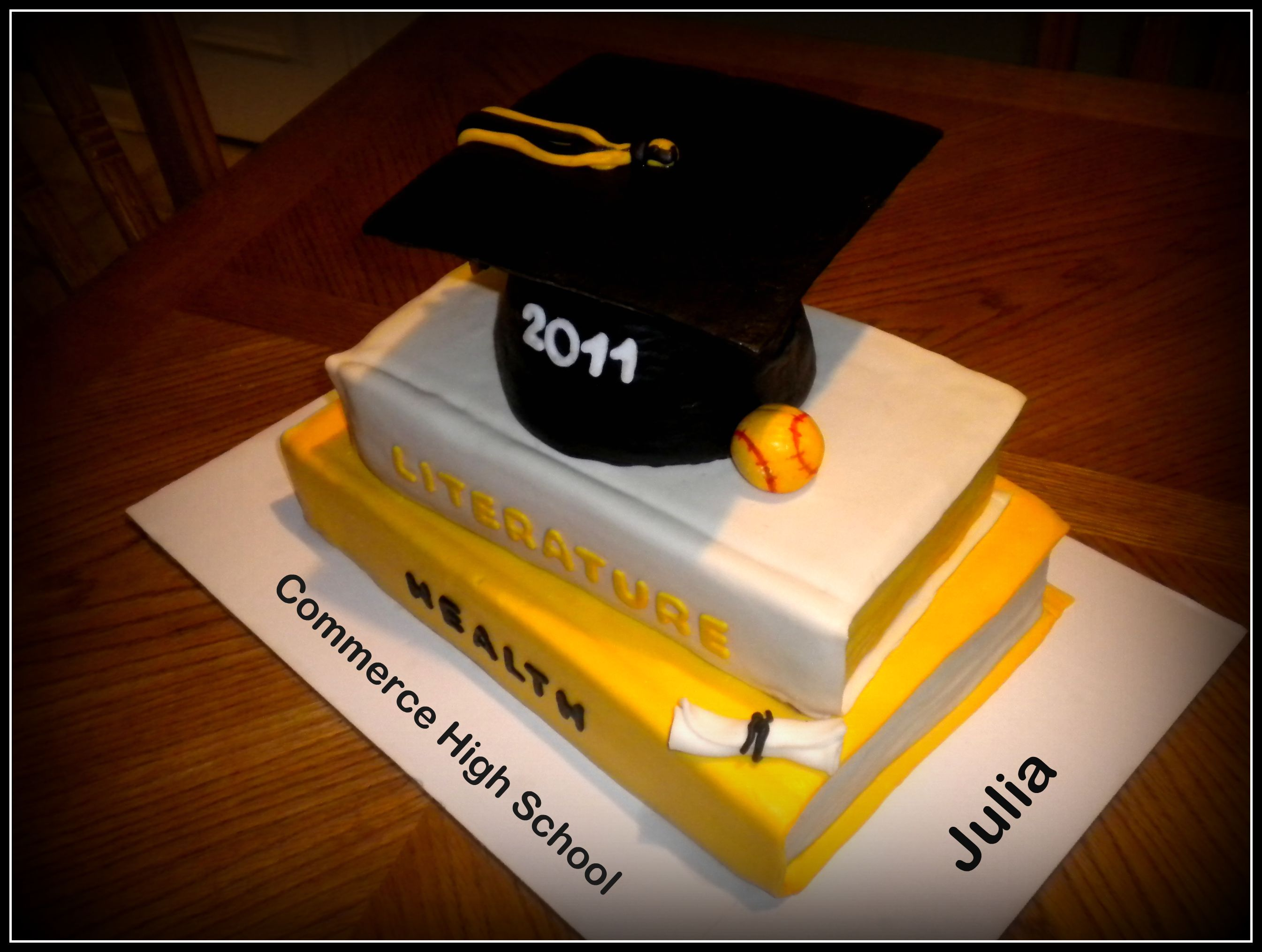 High School Graduation Cakes High School Graduation Cake ...