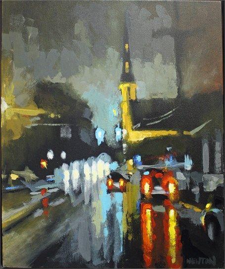 Citadel Square by Brandon Newton   Art painting, Painting ...