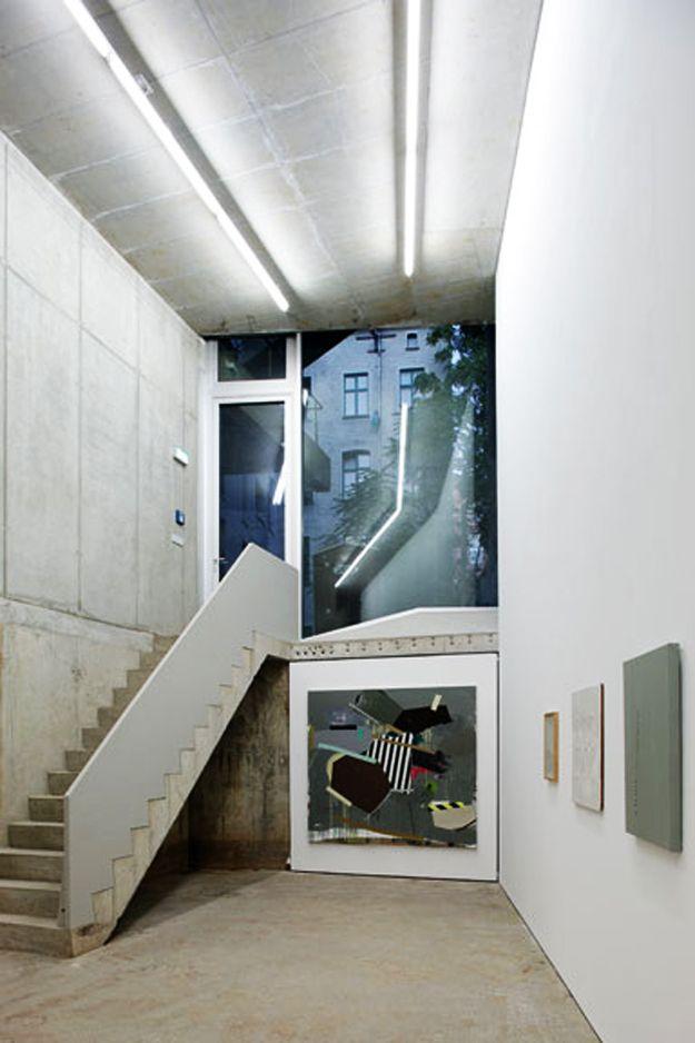 Berlin Studio And Gallery Brunnenstrasse 9 By Arno Brandlhuber Architect