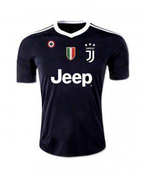 90943a561e3 2017 Goalie Jersey Juventus Replica Black Shirt  BFC218