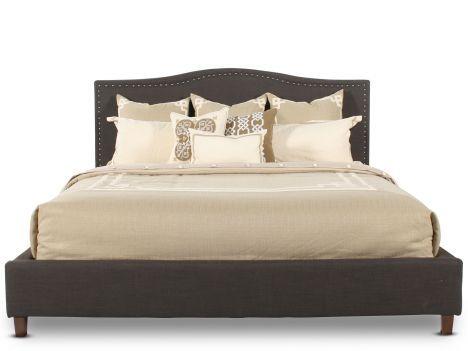 ASH-B600/KGBD-NAIL - Ashley King Upholstered Bed w/Nailhead | Mathis ...