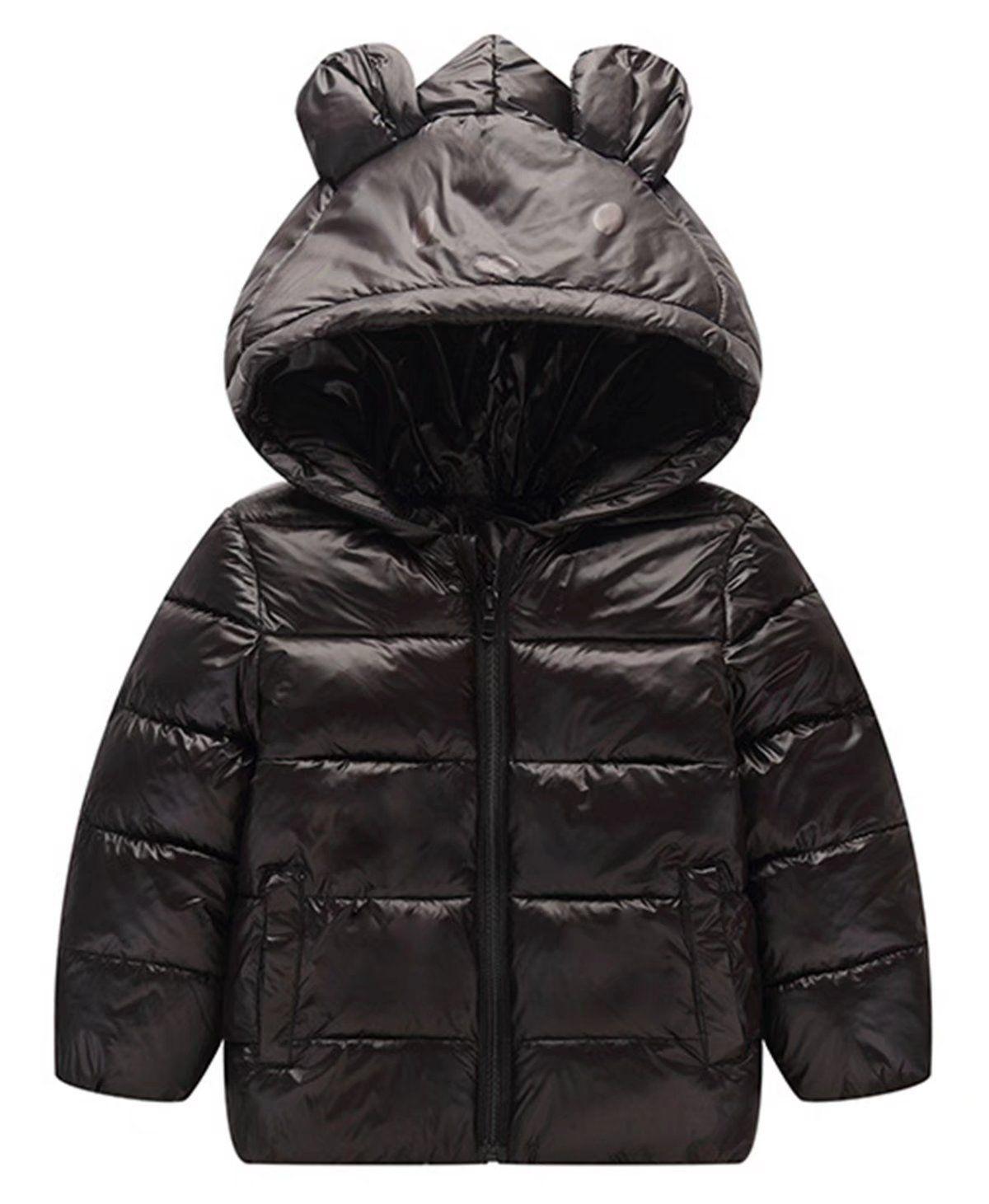 892c946a3 Betusline Unisex Kids Baby Boys Girls Winter Jacket Ear Warm Coat ...