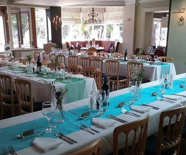 The Manor Christchurch Set Up For A Wedding Reception
