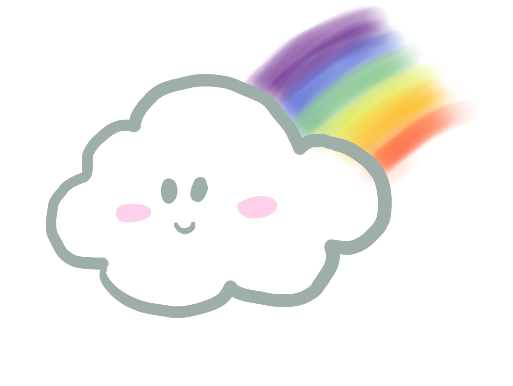 Rainbow Cloud 3 With Images