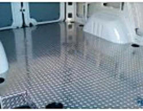 ProMaster Cargo Area Aluminum Treadbrite Flooring | Diamond Plate Flooring  | Aluminum Heavy Duty Flooring