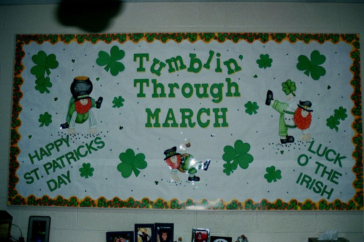 March Bulletin Board Creative Boards School Crafts