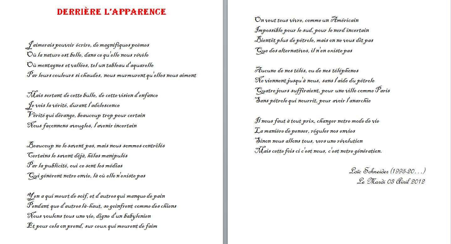 20 Derriere L Apparence Poeme Poesie Revolution Poeme Recueil De Poemes Le Derriere