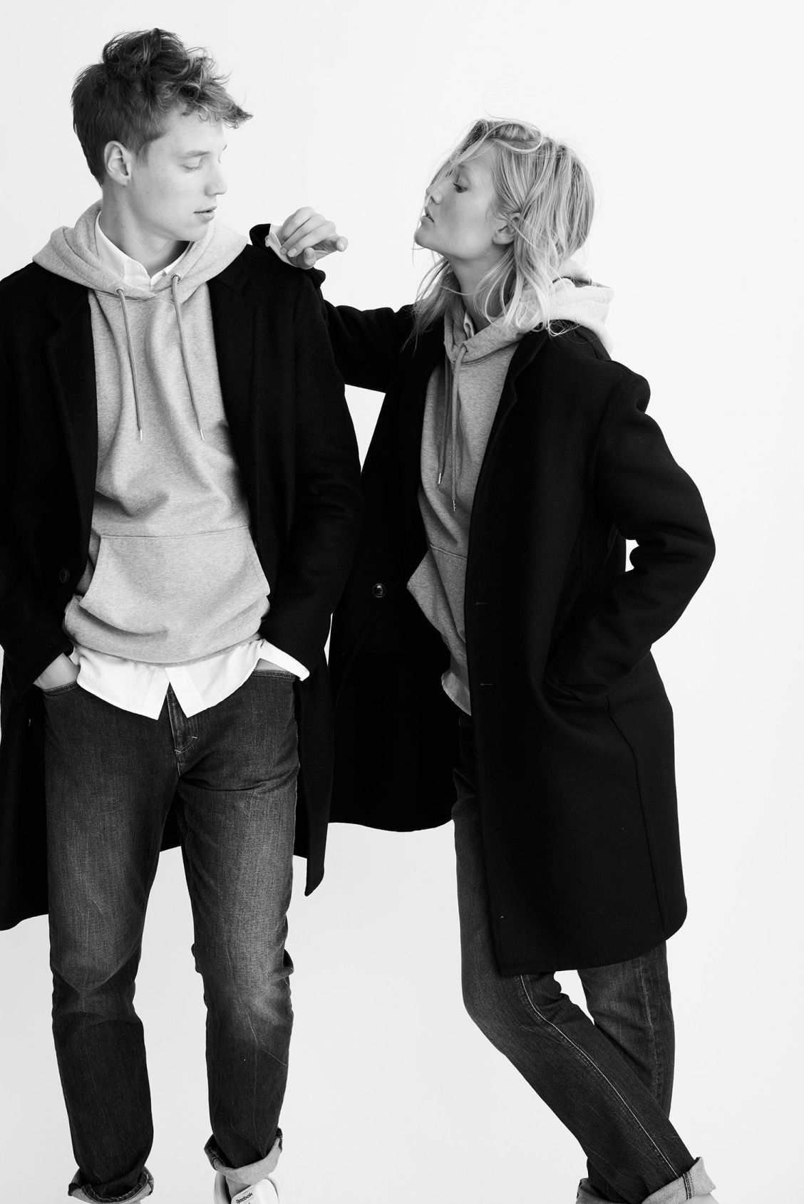 982e303a Model siblings Toni and Niklas Garrn unveil their genderless capsule  collection, EQL.