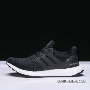 fcfa963e5 Adidas UB Ultra Boost 3.0 BA8842 Black And White Latest