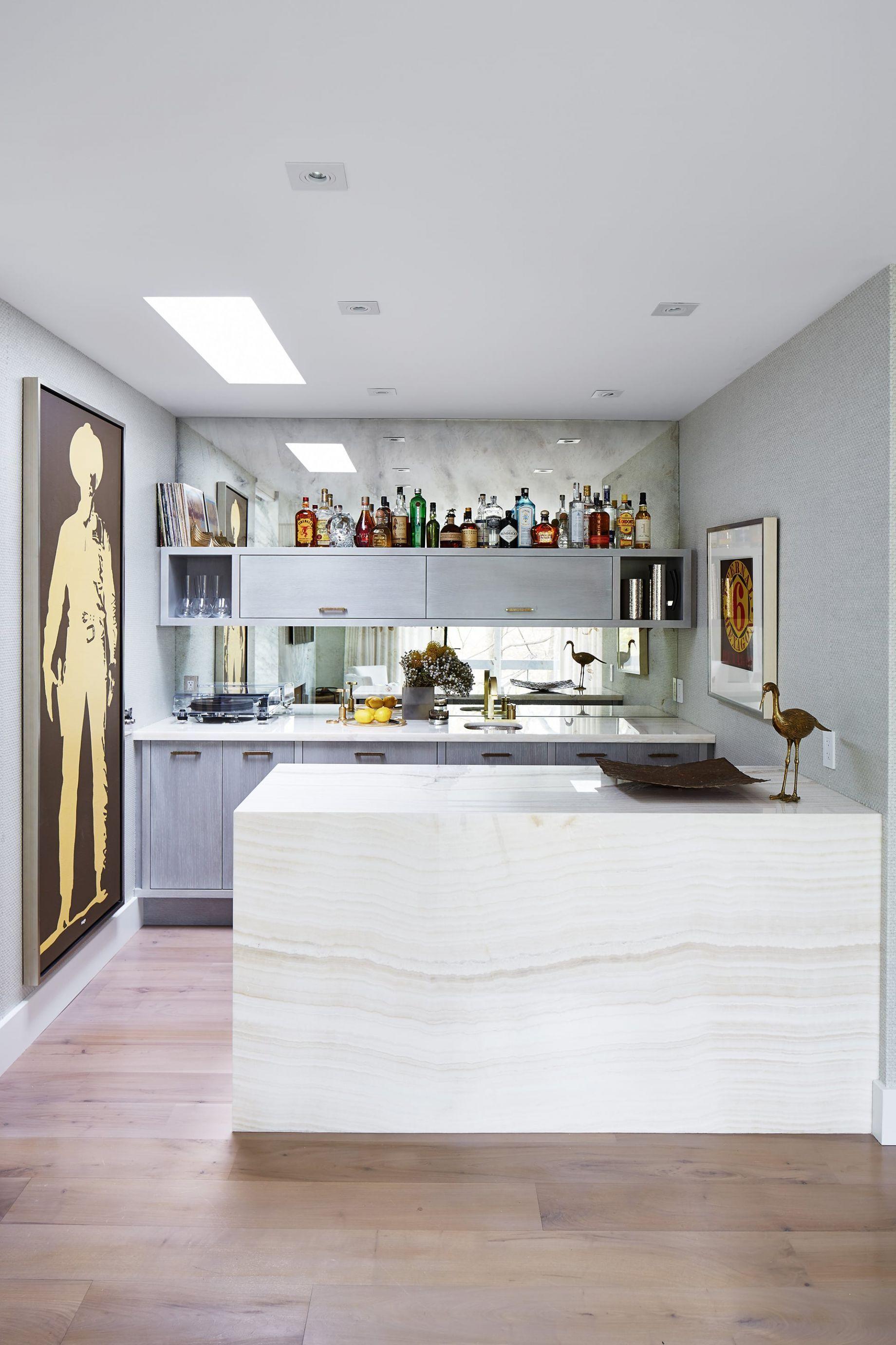 City Modern Den Marble Bar Countertop