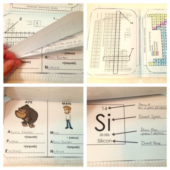 Periodic table for interactive notebooks Periods, groups, APE, MAN - new periodic table another name for group