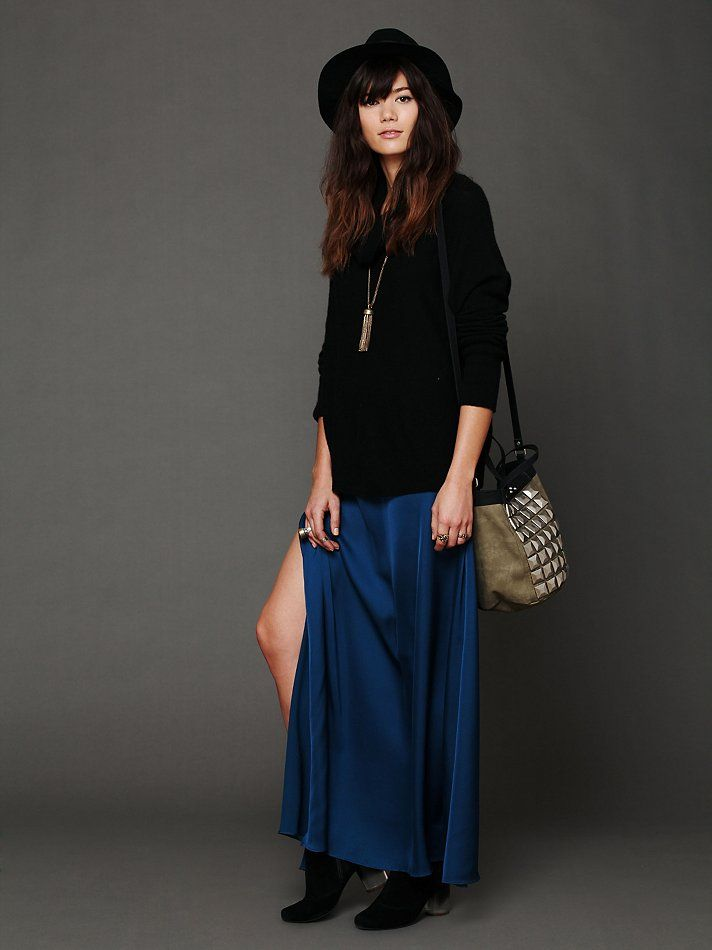 Free People After All Maxi Skirt, $132.00