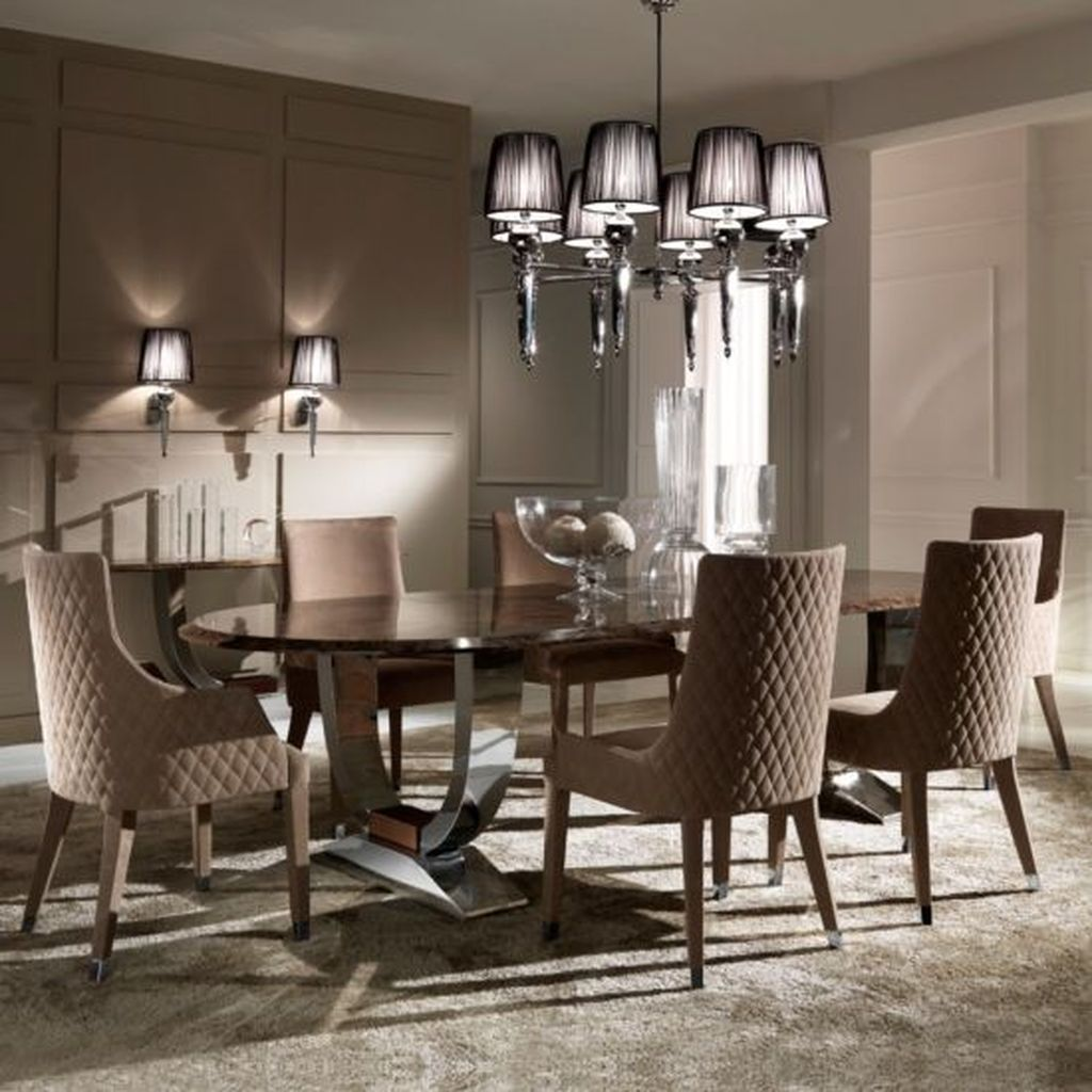 Italian Dining Table, Stylish Dining Room Chairs