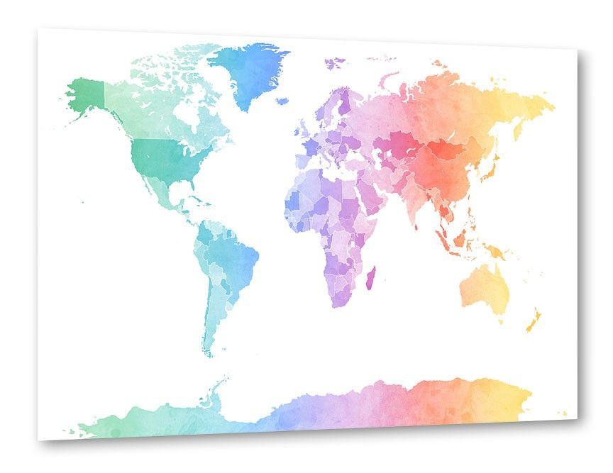 Polygonal-world-map Idee Pinterest Free vector art and Vector art - copy world map vector graphic