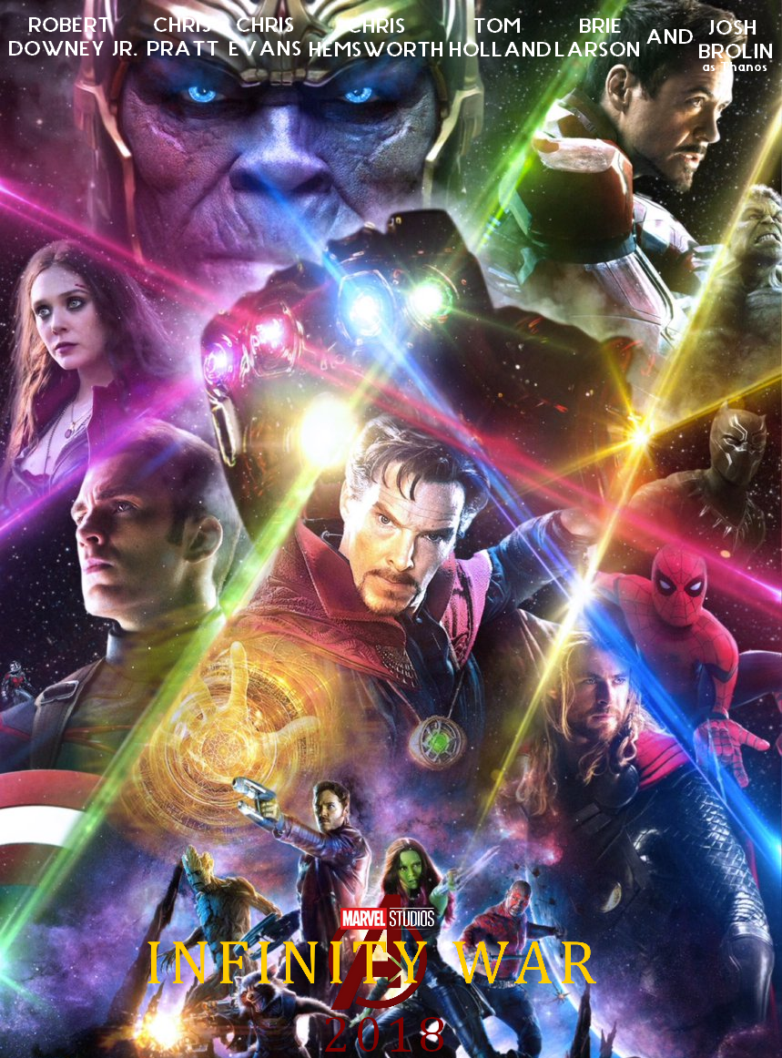 avengers infinity war poster fan art | the avengers | pinterest
