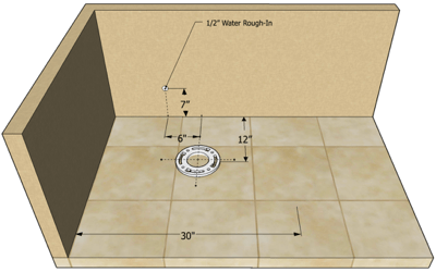 Toilet Rough In The 4 Dimensions You Need To Know In 2020 Tiny Bath Bathroom Remodel Shower Toilet