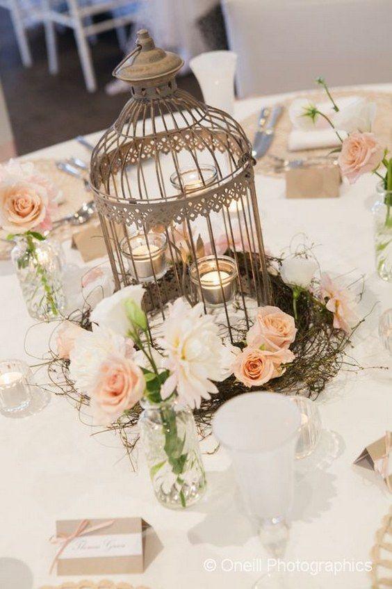 Top vintage birdcage wedding centerpieces for