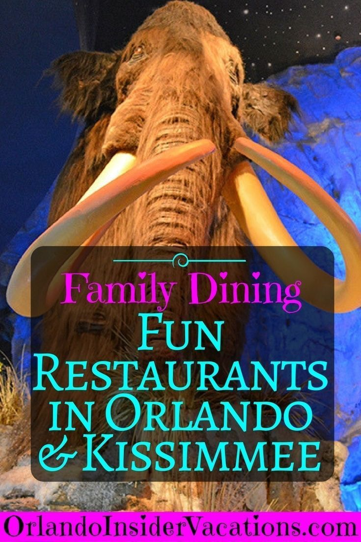 Fun Themed Restaurants In Orlando And Kissimmee
