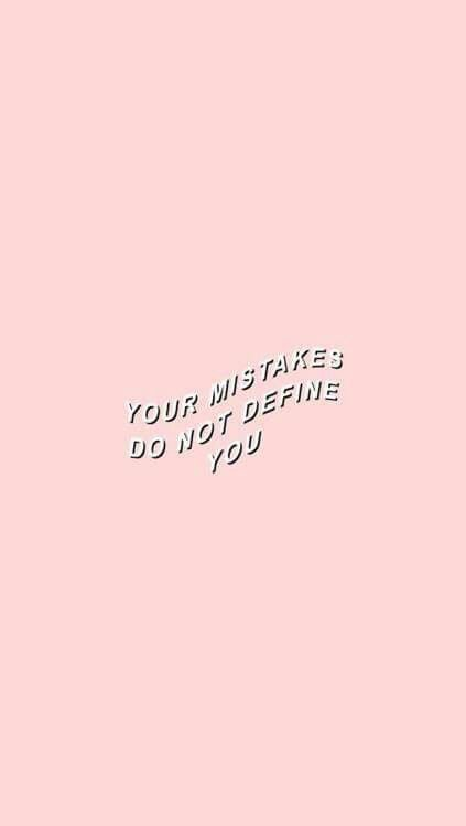 Nothing Define You Pastel Quotes Quote Aesthetic Pretty Words