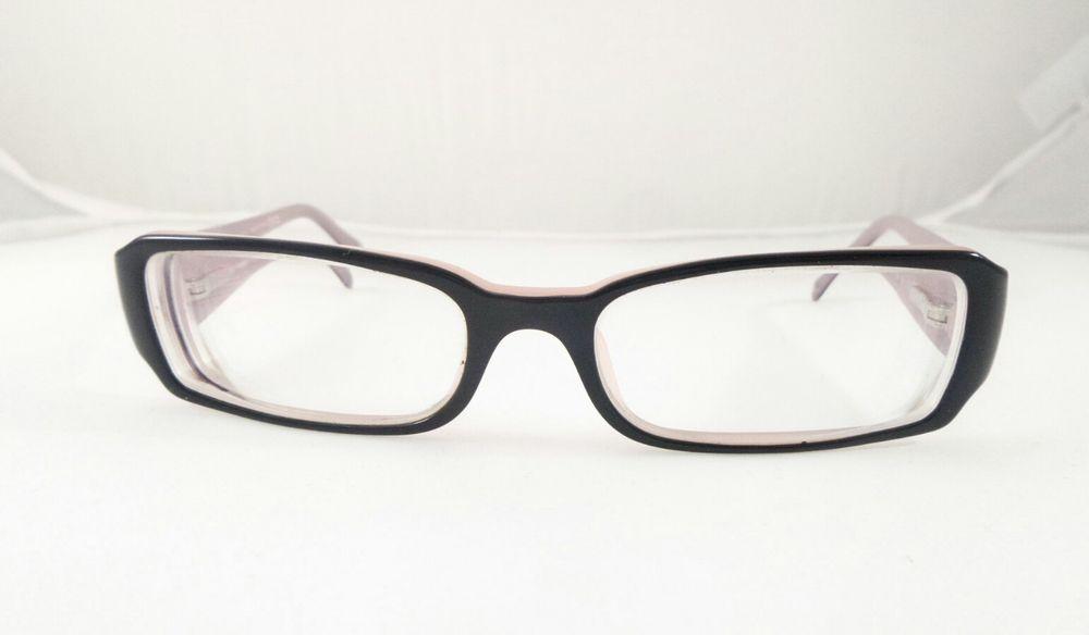 a9754b123830 Chanel Womens Lunette De Vue Black Pink Reading Frames Glasses 3091 c851 in  Health   Beauty