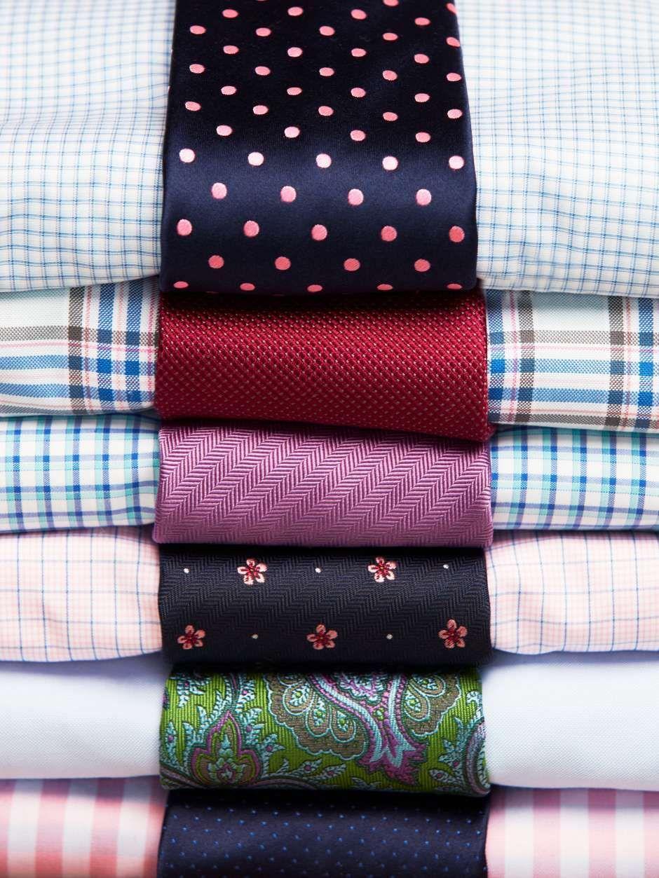 Shirt And Tie Matching Combinations Ties Ties In 2019 Pinterest
