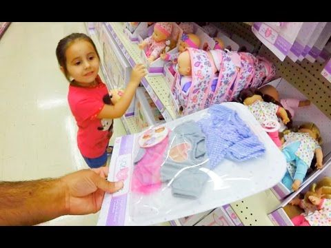 b67ce96f089f Shopping with Baby Alive Poops and Pees Doll and with a Reborn Baby ...