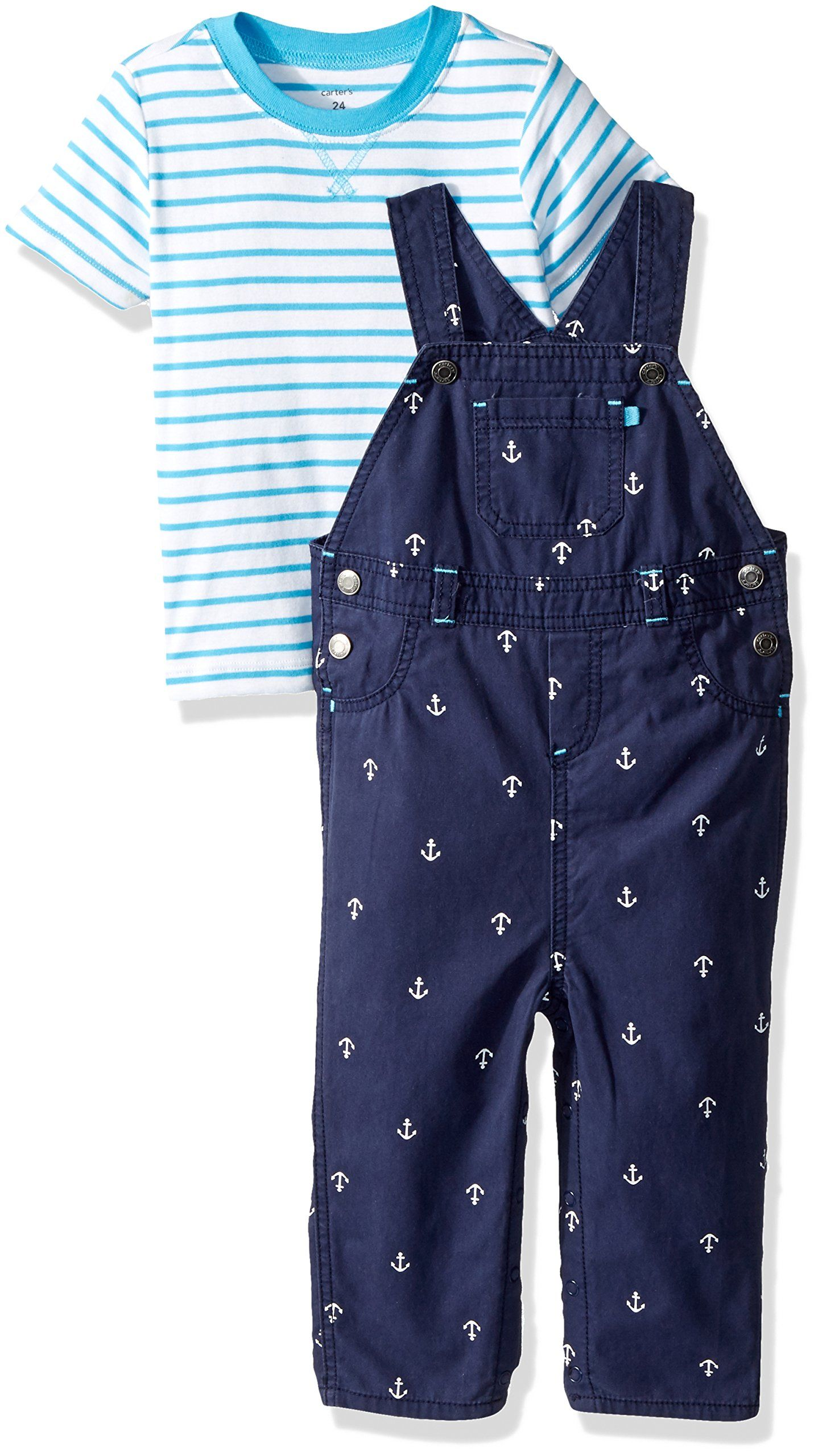 Kickee Pants Baby Boys Print Short Sleeve Polo Romper W//Pocket Prd-kpbrp615-pfd