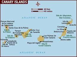 The Canary Islands / Islas Canarias.