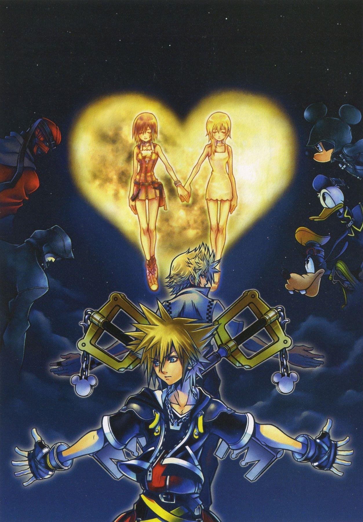 Kingdom Hearts II | Kingdom Hearts | Pinterest | Kindom hearts ...