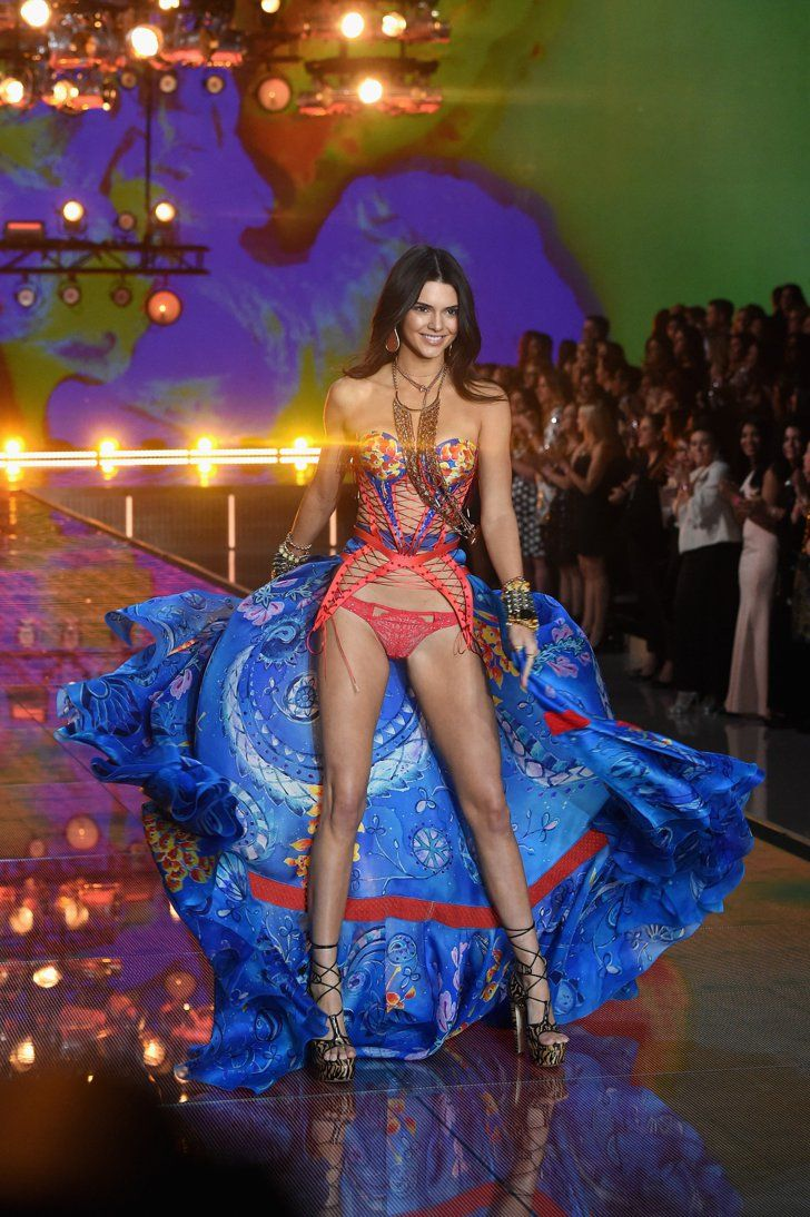 Pin for Later: You'll Never Look at Underwear the Same Way Thanks to This Year's VS Fashion Show  Kendall Jenner