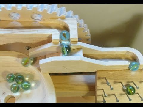Marble Machine 2 1 Build Part 5 Marble Distributor Marble Machine Rolling Ball Sculpture Marble
