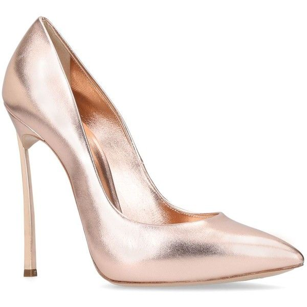 pointed stiletto pumps - Metallic Casadei Zy01xKx9j8