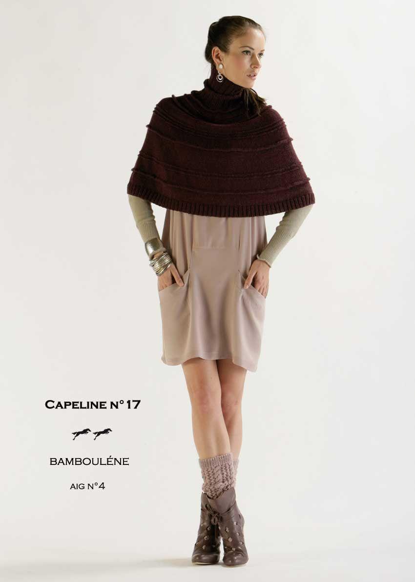 Modèle Capeline CB11 17 Patron tricot gratuit | Patron