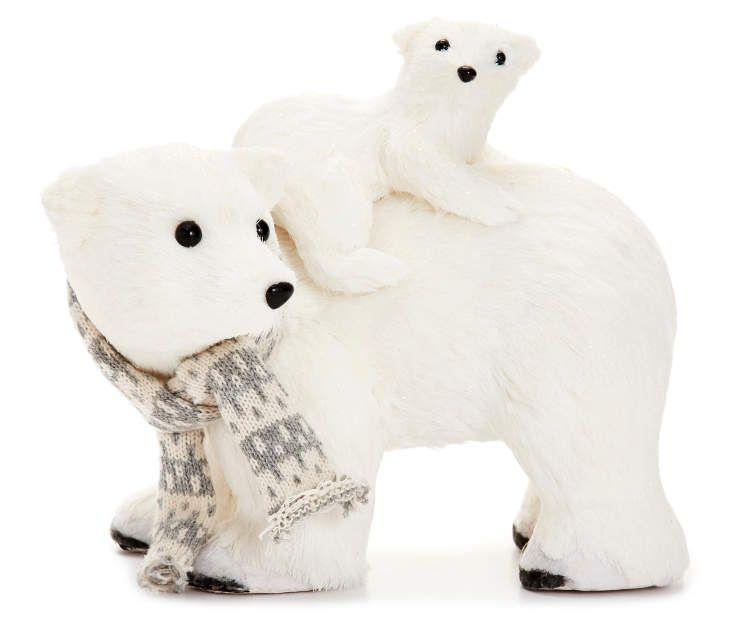 Winter Wonder Lane Mom Baby Polar Bears Big Lots Polar Bear Christmas Baby Polar Bears Polar Bear Baby Shower