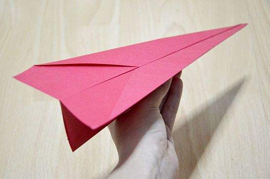 Make A Simple Paper Airplane Crafts Pinterest