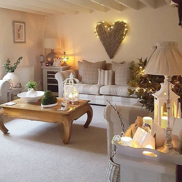 9 Shabby-Chic Living Room Ideas to Steal | Cosy, Living rooms and Barn