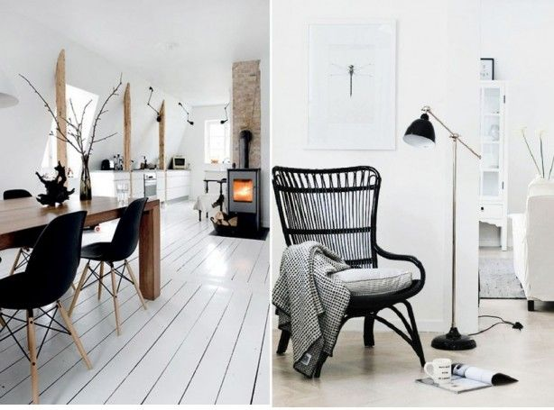 Zweeds interieur. I love it! Stoel is van IKEA. Storsele | Dream ...