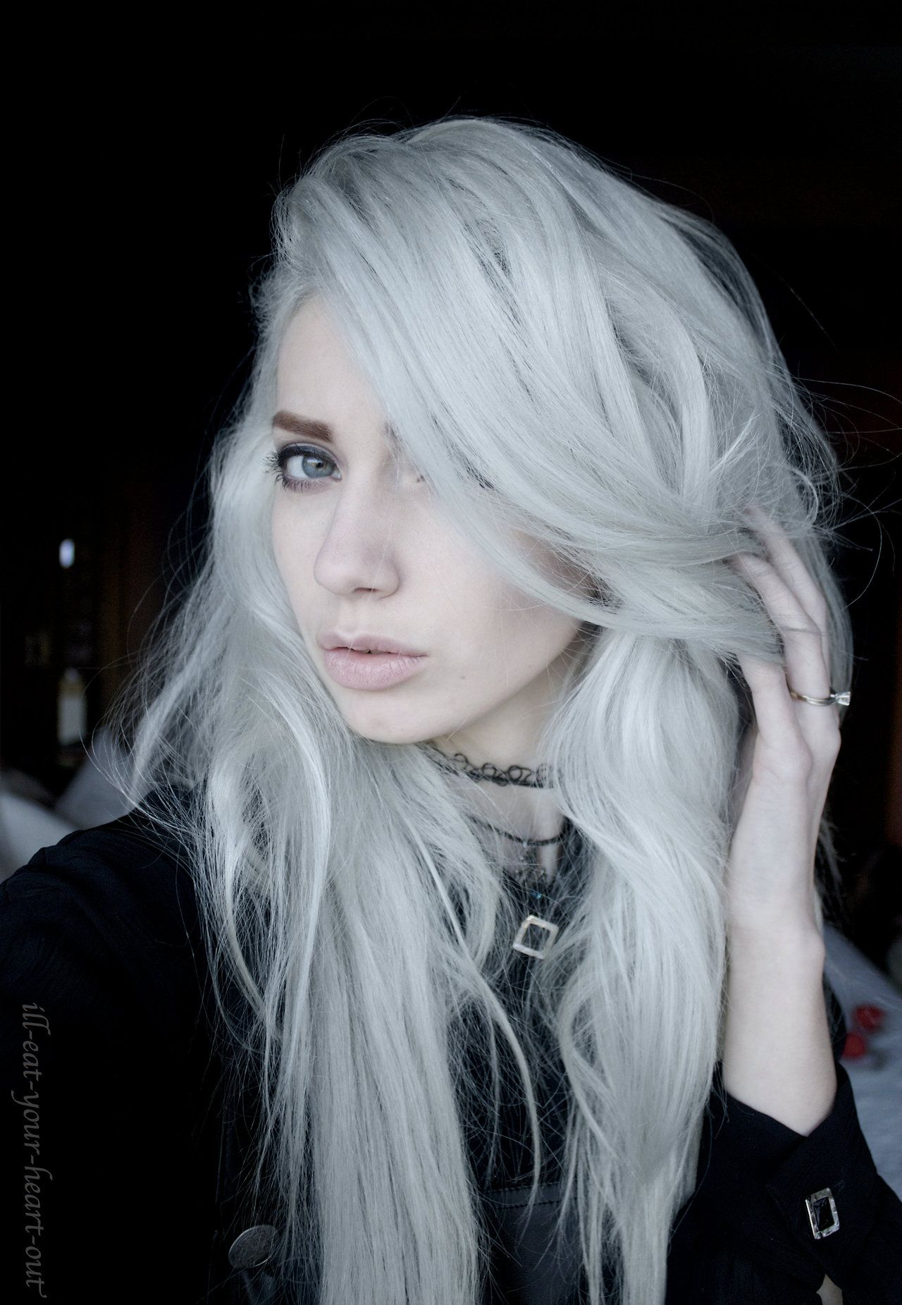 Alternative Grunge Girls Ill Eat Your Heart Out Hello Friends X White Hair Color Hair Images Platinum Hair