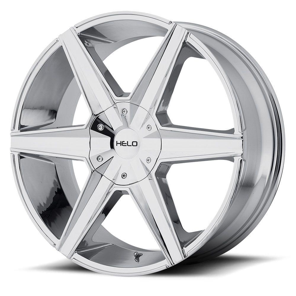Helo Wheels He887 Chrome Plated