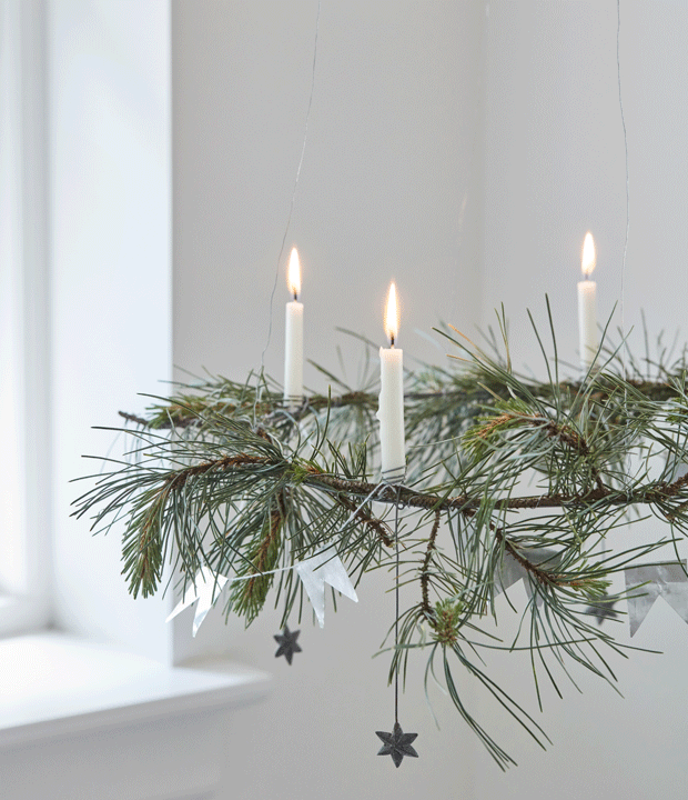 Decorate for a Natural Swedish Christmas - Chalk & Moss #beautifulnature