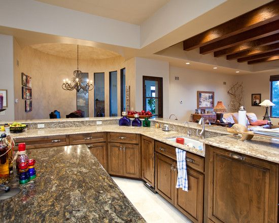 ranch kitchen designs | ranch style home designs from ...