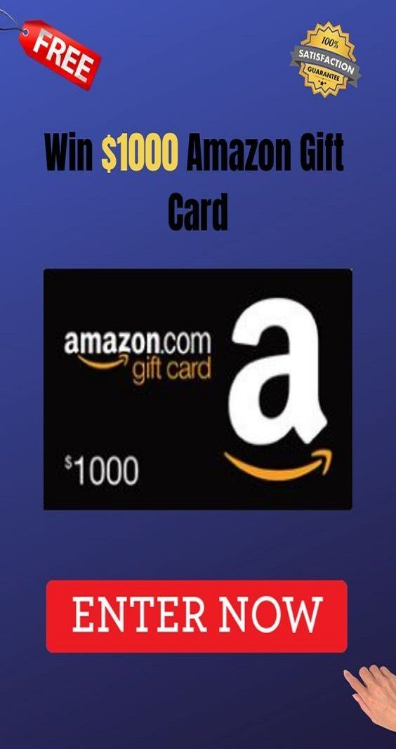 Photo of -GIVEAWAY-                         AMAZON GIFT CARD