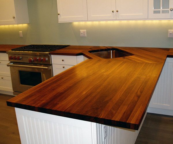 End Grain Butcher Block Countertops Outdoor Kitchen Countertops
